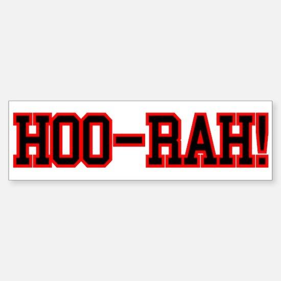 HOO RAH Sticker (Bumper)