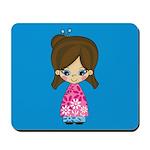 Cute Little Geisha Girl Mousepad