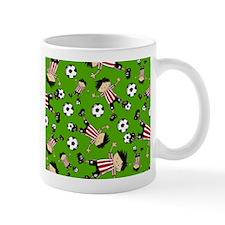 Cute Soccer Footy Boy Coffee Mug