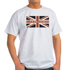 I Love English Boys T-Shirt