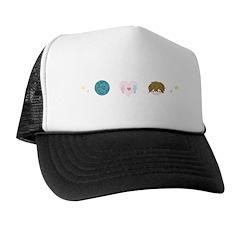 Peace, Love & Rob Trucker Hat