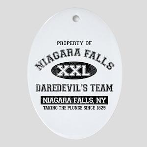 Property of Niagara Falls Ornament (Oval)