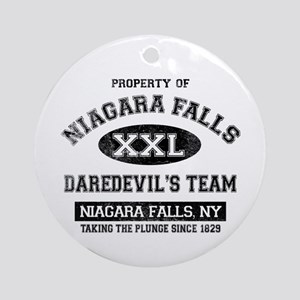 Property of Niagara Falls Ornament (Round)