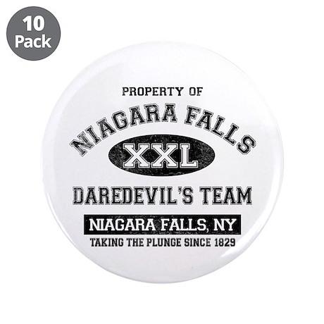 "Property of Niagara Falls 3.5"" Button (10 pack)"