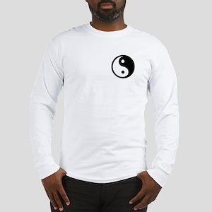 Black Yin Yang Long Sleeve T-Shirt