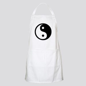 Black Yin Yang Apron