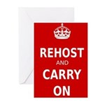 Rehosting Greeting Cards (Pk of 20)