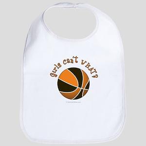 Black/Orange Basketball Bib