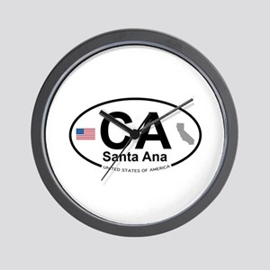 Santa Ana Wall Clock
