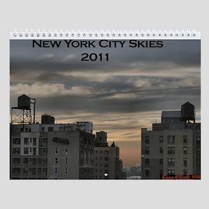 New York Skies Wall Calendar