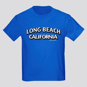 Long Beach Kids Dark T-Shirt