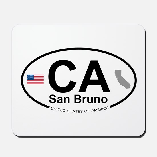 San Bruno Mousepad