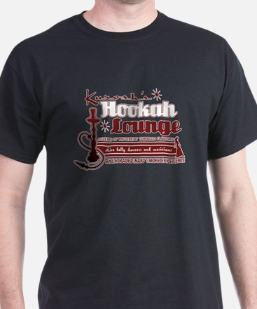 Hookah Lounge Black T-Shirt