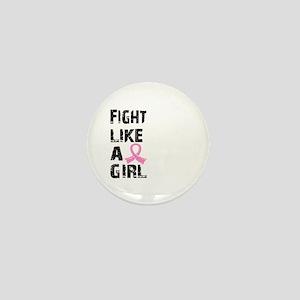 Licensed Fight Like a Girl 21.8 Mini Button