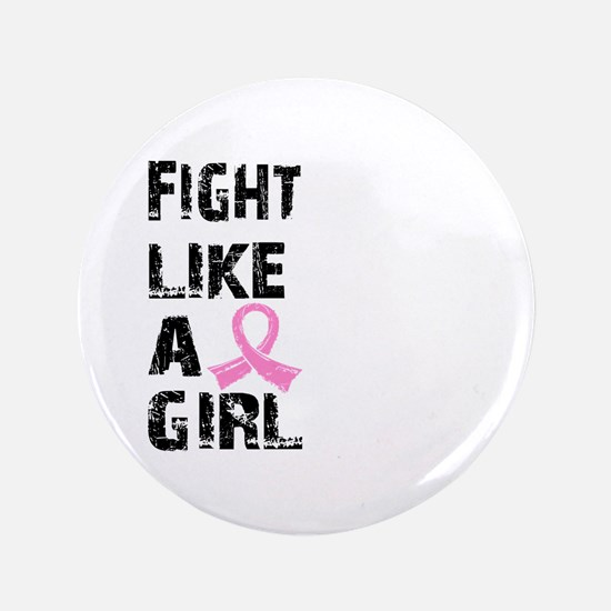 "Licensed Fight Like a Girl 21.8 3.5"" Button"