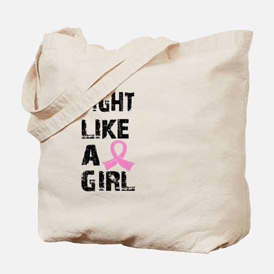 Licensed Fight Like a Girl 21.8 Tote Bag