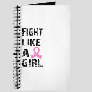 Licensed Fight Like a Girl 21.8 Journal