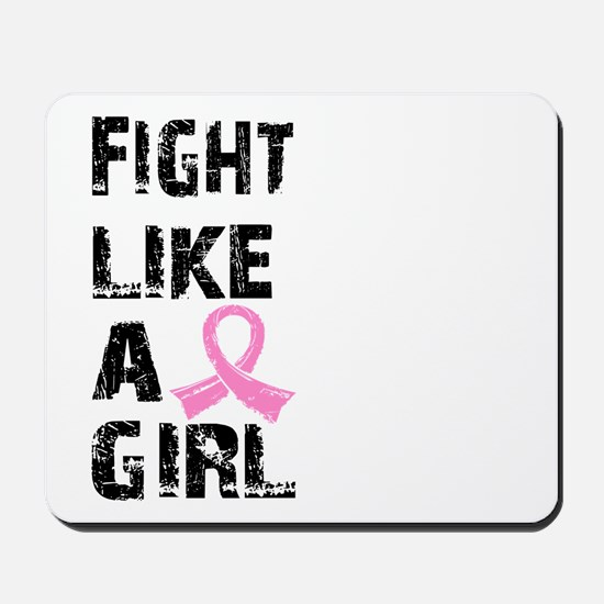 Licensed Fight Like a Girl 21.8 Mousepad