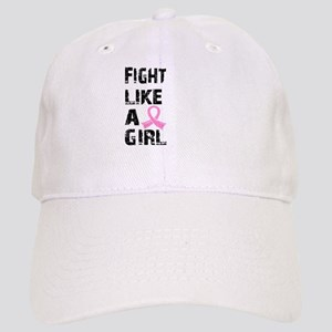 Licensed Fight Like a Girl 21.8 Cap