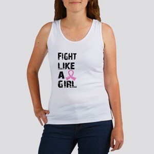 Licensed Fight Like a Girl 21.8 Women's Tank Top