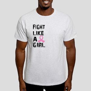 Licensed Fight Like a Girl 21.8 Light T-Shirt