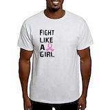Fight like a girl Light T-Shirt