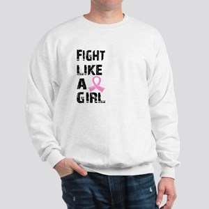 Licensed Fight Like a Girl 21.8 Sweatshirt