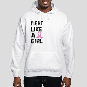 Licensed Fight Like a Girl 21.8 Hooded Sweatshirt