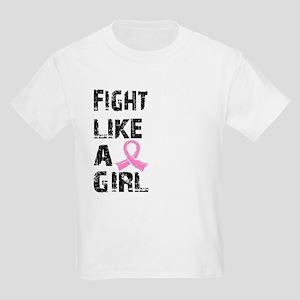 Licensed Fight Like a Girl 21.8 Kids Light T-Shirt