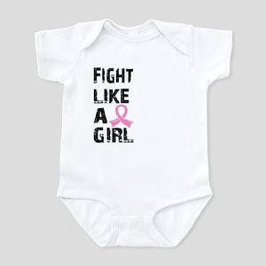 Licensed Fight Like a Girl 21.8 Infant Bodysuit