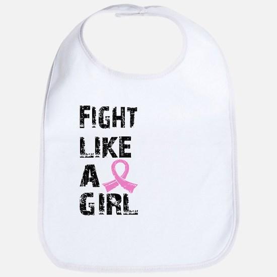 Licensed Fight Like a Girl 21.8 Bib