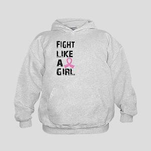 Licensed Fight Like a Girl 21.8 Kids Hoodie