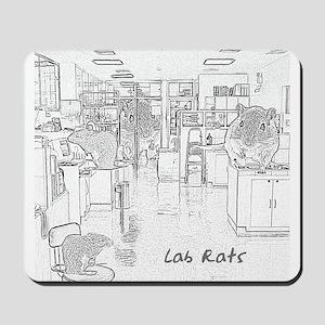 Lab Rats Mousepad