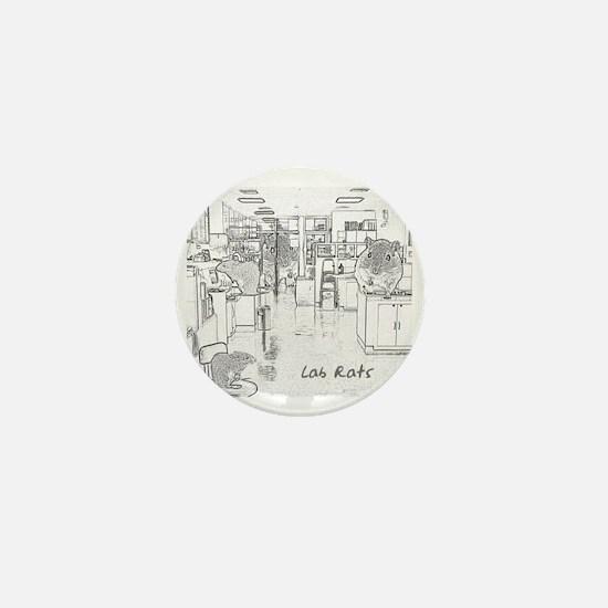 Lab Rats Mini Button