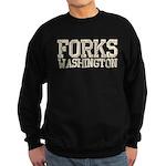 Forks, WA Sweatshirt (dark)