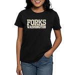 Forks, WA Women's Dark T-Shirt