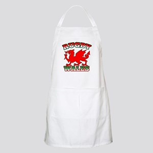 Rugby Wales Flag Apron