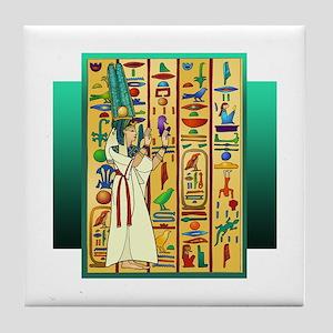 """Hathor"" Tile Coaster"
