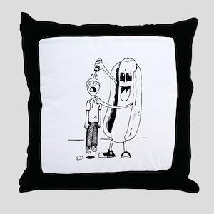 Sweet Irony Throw Pillow