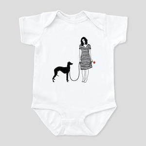 Whippet Infant Bodysuit
