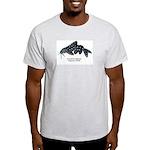 Synondontis angelicus Ash Grey T-Shirt