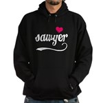 Sawyer Love Hoodie (dark)