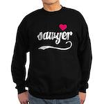 Sawyer Love Sweatshirt (dark)