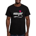 Sawyer Love Men's Fitted T-Shirt (dark)