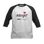 Sawyer Love Kids Baseball Jersey