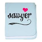 Sawyer Love baby blanket