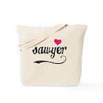 Sawyer Love Tote Bag