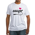 Sawyer Love Fitted T-Shirt