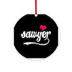 Sawyer Love Ornament (Round)