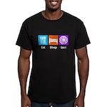 Eat Sleep Lost Men's Fitted T-Shirt (dark)